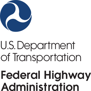 Logo of the United States Department of Transportation Federal Highway Administration